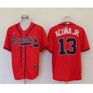 NWT Atlanta Braves Ronald Acuna Jr. #13 Jersey